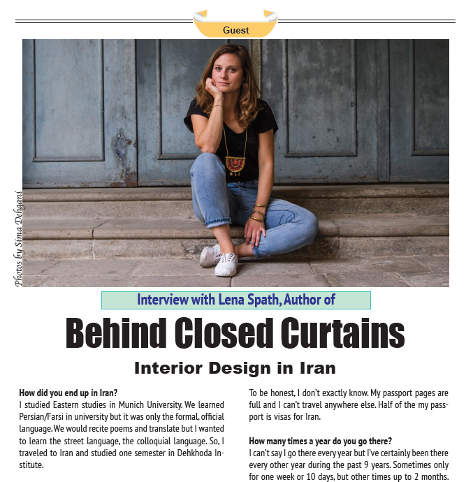 Behind Closed Curtains | New York Persian Cultural Center